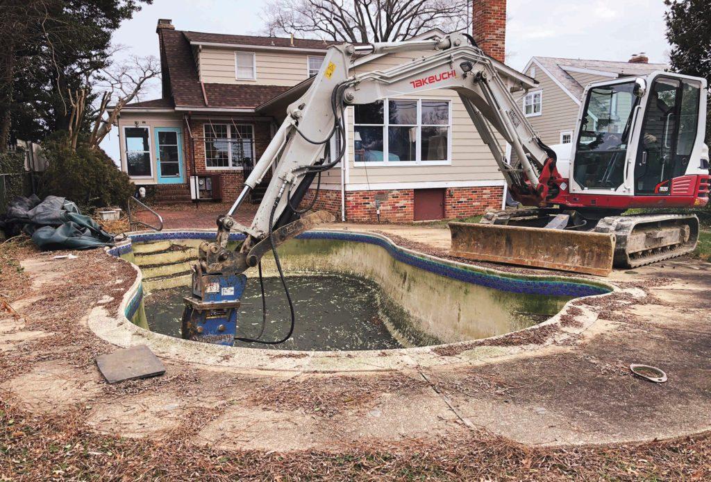 pool removal sydney